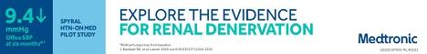 EXPLORE THE EVIDENCE FOR RENAL DENERVATION | MEDTRONIC