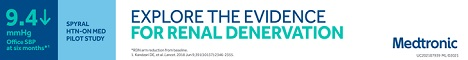 EXPLORE THE EVIDENCE FOR RENAL DENERVATION